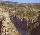 Img 1: La Muela de Cortes y el macizo del Caroig