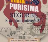 Cartel anunciador Feria de la Purísima