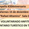 Cartel Jornada Voluntariado Turistico El Campello
