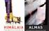 """Cartel de la exposición de """"Himalaya"""" y """"Almas"""""""