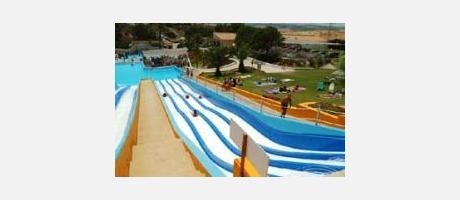 Aquapark Rojales - tobogan