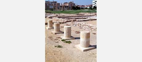 Img 1: THE ROMAN VILLAS OF CASTILLO DE ANSALDO
