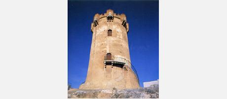 Img 1: ARABIC TOWER AND SURROUNDING CAVES