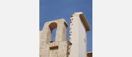 Vista detalle de la Iglesia Parroquial en Siete Aguas