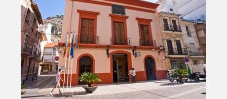 Fachada del antiguo ayuntamiento de Cullera