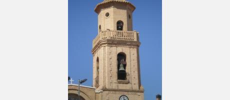 Foto de la torre del campanario