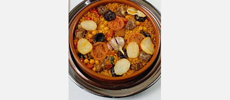 Foto: arroz al horno en cazuela