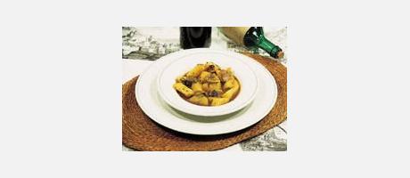 Borreta de melva (Frigate mackerel stew)