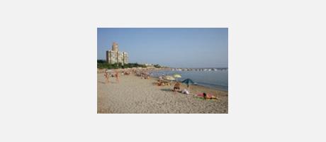 Playa de la Almadreba en Alicante