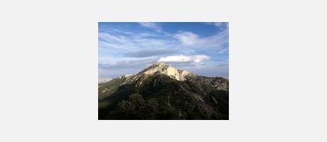 Img 1: Das Maigmó Massiv und die Sierra de l'Arguenya