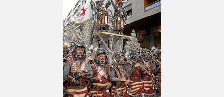 Fiestas de Moros y Cristianos en Ontinyent