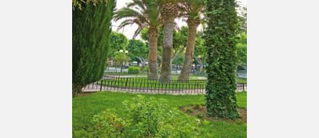 Img 1: Parque de la Glorieta.