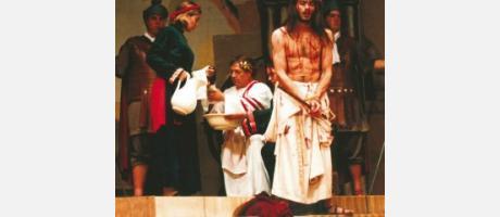 Img 1: Representación de La Pasión de Cristo
