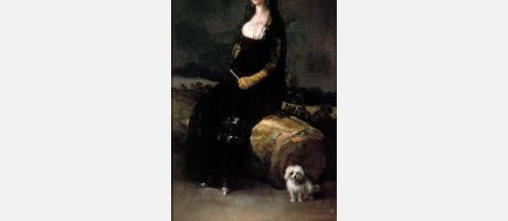 Francisco de Goya. Retrato de Joaquina Candado