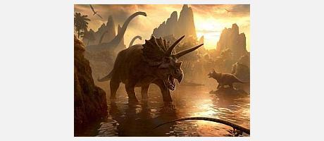 Img 1: Sombras en la prehistoria, ¡¡los dinosaurios vienen a Onda!!