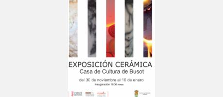 Img 1: Exposición de cerámica en Busot