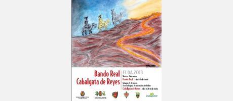 Img 1: Cabalgata de Reyes y Paje Real Elda 2013