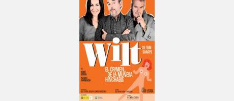 Cartel con los tres actores príncipales de la obra, Ana Milán, Fernando Guillén Cuervo y  Ángel de Andrés