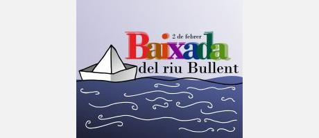 Img 1: Disfraces y divertidas embarcaciones en el Descenso del río Bullent en Pego