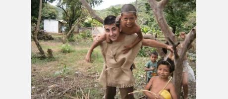 """Img 1: Conferencia en Vilafranca: """"Sociedad y educación en Nicaragua""""."""