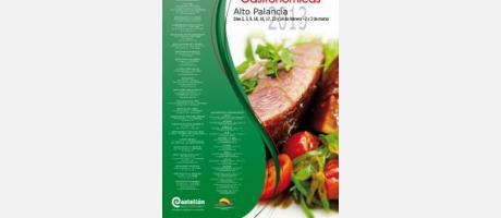 Cartel de las Jornadas gastronómicas del Alto Palancia