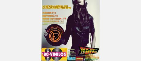 Img 1: Retro-Party Fiesta 80 vinilos en la noche de la Aurora de Cullera 2013