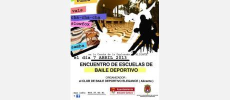 Img 1: I Encuentro de Escuelas de Baile de Alicante 2013