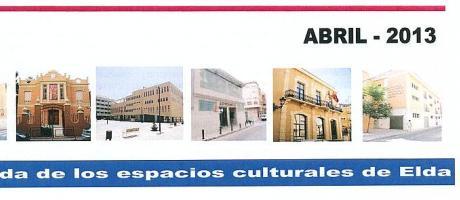 Img 1: Agenda Cultural de Elda del mes de Abril