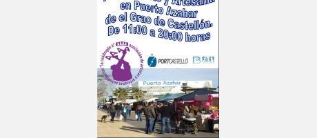Img 1: Feria de arte y artesanía en el Grao de Castellón