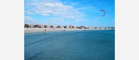 Img 1: Santa Pola accueille le Kiteboarding Freestyle Weekend