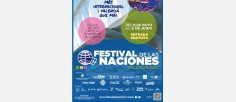 Cartel Festival de las Naciones