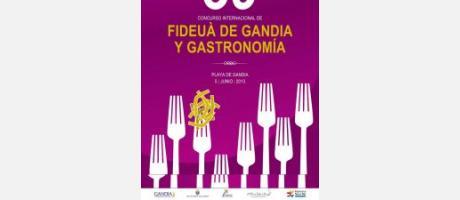 Cartel Concurso Gandia