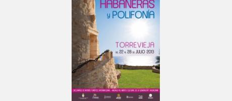 cartel Certamen Habaneras Torrevieja