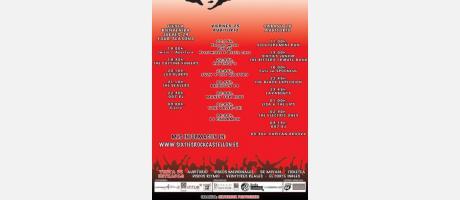 Cartel Sixtiesrockcastellón 2013