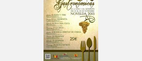 La gastronomía es protagonista en Novelda estas semanas