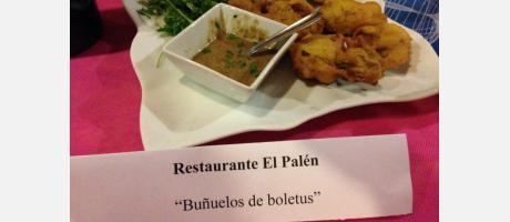"""""""Buñuelos de boletus"""""""
