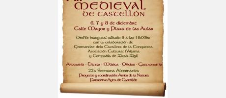 XII Mercado Medieval de Castellón 2013