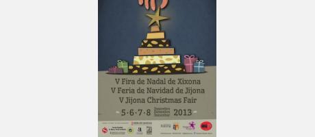 Cartel V Feria de Navidad