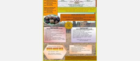 X Jornadas gastrónomicas Los Abriles y Feria de la trufa