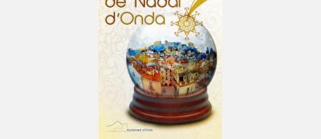 poster mercado de navidad 2013 en Onda