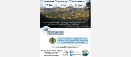 Ruta de Senderismo Pla de Corrals - Pinet