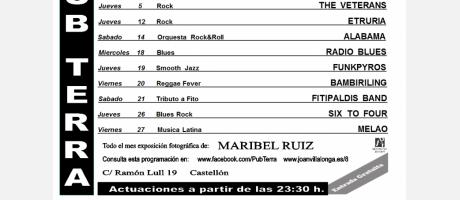 Programación de diciembre del Pub Terra Castellón 2013