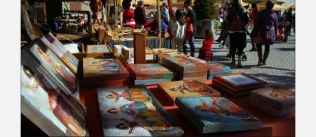 Mercado de Navidad en Segorbe.