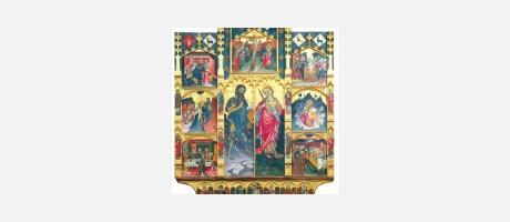 Culla retablo