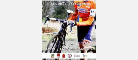 Cartel del campeonato de ciclocross
