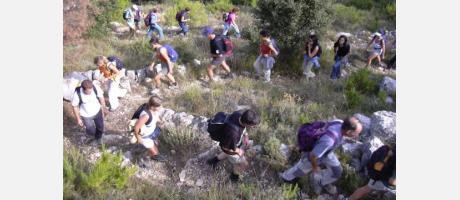 Senderismo en la Vall de Laguar con 15 cumbres