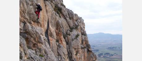 Escalada en vía Ferrata en Villena con Aktive Life