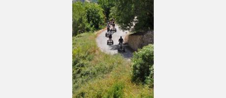 Ruta en segway por el valle de Guadalest