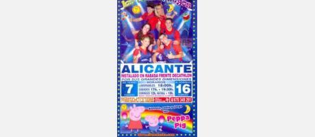 Gran Circo Alaska en Alicante.
