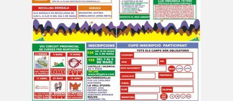 Información VIII Carrera de Montaña Castro Alfondeguilla